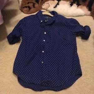 Ralph Lauren button down dress shirt size 4T
